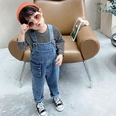 兒童吊帶褲2020秋裝新款男童褲子寶寶休閒褲嬰兒運動褲洋氣長褲潮 【端午節特惠】