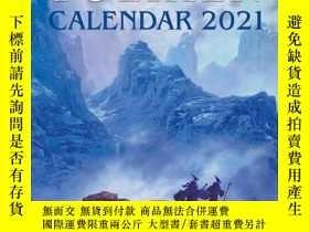 二手書博民逛書店[預訂]Tolkien罕見Calendar 2021(托爾金2021日歷)Y328320 J.R.R. Tol