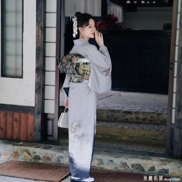 新款少女日本浴衣溫柔復古日系料理改良佳期如夢和服