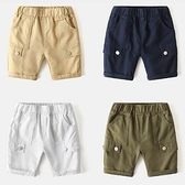 男童夏季五分鐘褲休閒褲