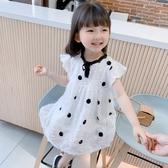 女童洋裝 2020夏裝新款小童薄款夏季裙子夏天寶寶洋氣兒童洋裝