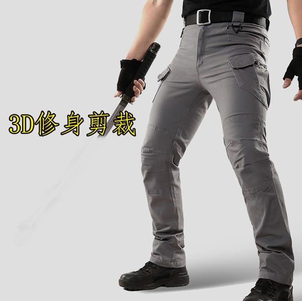 【美國熊】生存遊戲 3D立體剪裁 多口袋紮實面料 執行官戰術褲 任務褲 工作褲 [IX9-54]