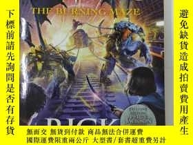 二手書博民逛書店The罕見Burning Maze (The Trials of