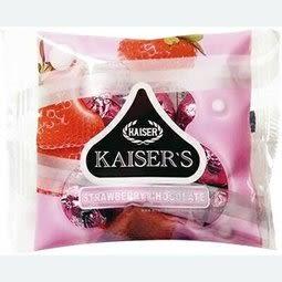 甘百世-凱撒巧克力(黑巧克力、牛奶、草莓) 55g*12包/盒【台安藥妝】