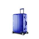 Arowana 星漾國度20吋PC鋁框避震輪旅行箱(藍色)