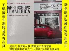 二手書博民逛書店rob罕見hammer barbershops of ameri