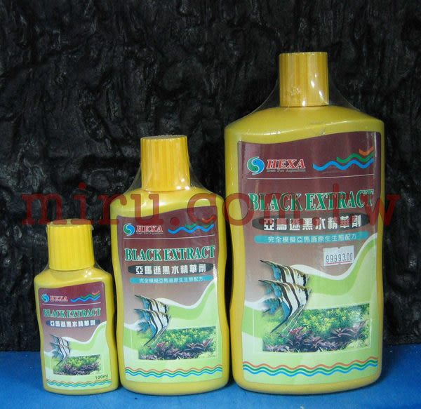【西高地水族坊】HEXA 亞馬遜黑水精華劑 (300ml)
