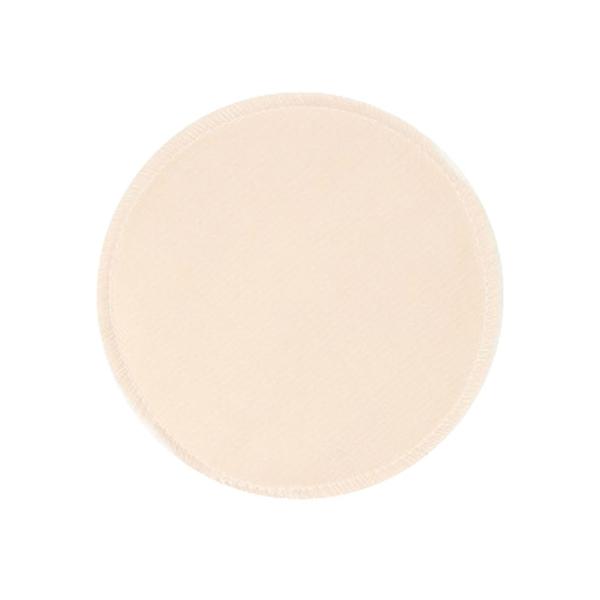 BabyPark 美國Mothers Lounge Breast Pad 可洗式環保溢乳墊-素面膚色(一組四入)