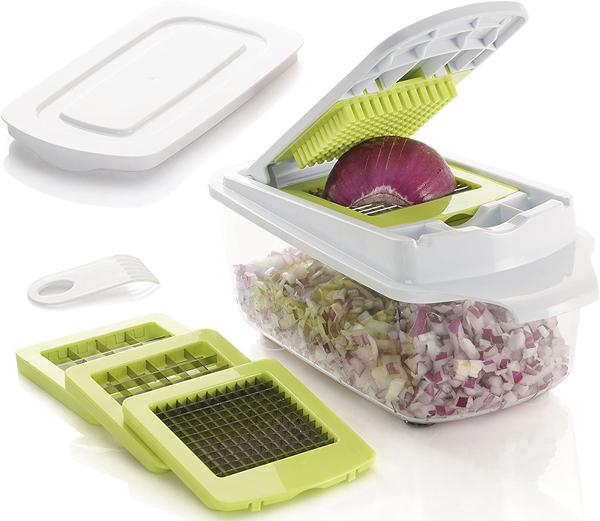[2美國直購] 食品切碎機 Brieftons QuickPush Food Chopper: Strongest 200% More Container _cb1