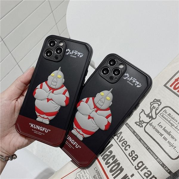 惡搞肥宅奧特曼 適用 iPhone12Pro 11 Max Mini Xr X Xs 7 8 plus 蘋果手機殼
