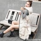 反季韓版羽絨棉馬甲背心女中長秋冬新款時尚過膝保暖坎肩棉衣 快速出貨