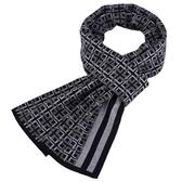 針織圍巾-羊毛英倫格紋提花男披肩3色73wi24【時尚巴黎】