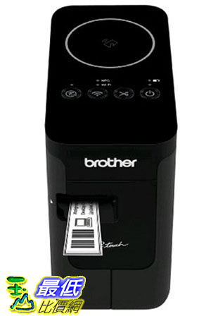 [105美國代購]  P-touch PTP750W  貼紙機 標籤機 (可印中文) PC Connectable Label Maker for PC and MAC