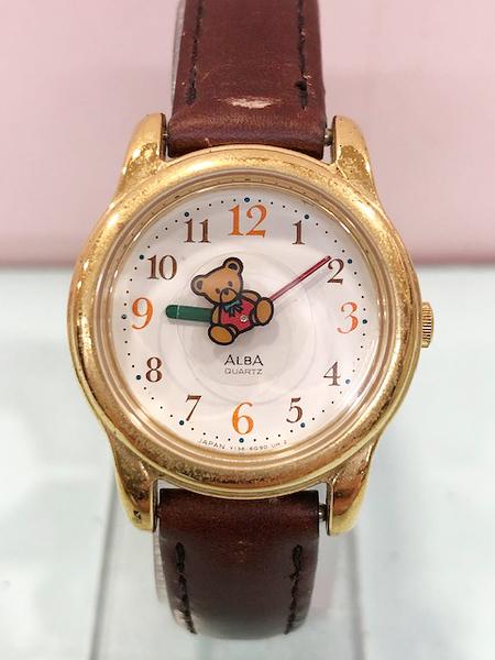 【震撼精品百貨】Hello Kitty 凱蒂貓~日本精品手錶-BD 熊 ALBA錶#52606