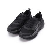 SKECHERS 慢跑系列 GO RUN MAX CUSHIONING AIR 綁帶運動鞋 全黑 128062BBK 女鞋