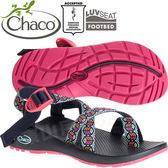 Chaco ZCW02_HD45藍色和平 女越野運動涼鞋-Z2夾腳款 休閒鞋