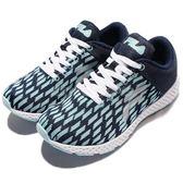 【六折特賣】FILA 慢跑鞋 J908Q 藍綠 深藍 白 紋路 運動鞋 休閒鞋 女鞋【PUMP306】 5J908Q331