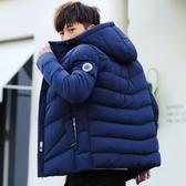 外套冬季加厚男士棉衣韓版修身短款棉襖學生新款潮流外套羽絨棉服