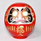 達摩 達磨 不倒翁 20cm高 群馬縣高崎生產日本製 開運吉祥 大願成就 紅色