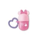 日本 迪士尼 Disney 米妮小饅頭零食收納盒/收納罐~粉色