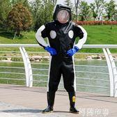 防蜂服 馬蜂服全套透氣專用加厚胡蜂服防蜂帽衣防護全身防蜂連體衣馬蜂衣 igo 阿薩布魯