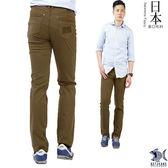 【NST Jeans】日本布料_洗鍊馬鞍棕色 微彈滑爽休閒男褲(歐系修身小直筒)380(5611)
