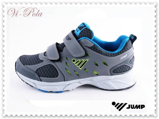 ★☆VI-POLA☆★JUMP 將門 851 男款 魔鬼氈 休閒 運動鞋 慢跑鞋