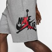NIKE JORDAN JUMPMAN CLASSICS 灰 側大LOGO 棉 短褲 (布魯克林) CJ1919-091