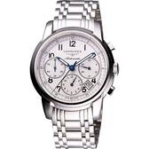 LONGINES 浪琴 Saint-Imier 經典復刻計時手錶 L27524736