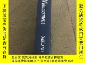 二手書博民逛書店total罕見quality managementY443990 total quality manageme