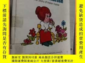 二手書博民逛書店英文書the罕見value of determination the story of helen keller
