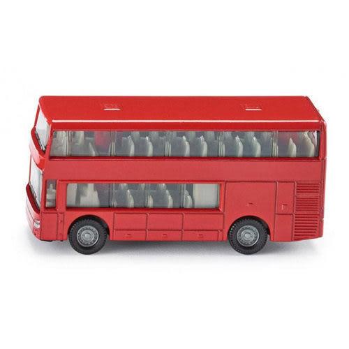 SIKU 德國小汽車 雙層巴士_SU1321