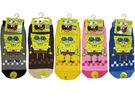 【卡漫城】海綿寶寶  襪子 3雙 一組 22-24cm ㊣版 Patrick Spongebob 台灣製造 短襪