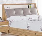 【森可家居】梅克爾5尺床頭箱 7ZX139-3 雙人可置物 木紋質感 無印風 北歐風
