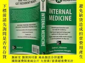 二手書博民逛書店RESIDENT罕見READINESS INTERNALMEDI