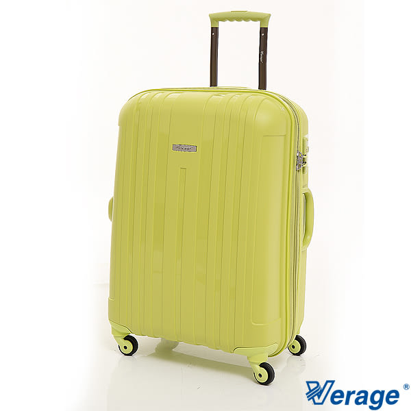 快樂旅行 ~Verage 維麗杰 24吋 糖果箱系列超輕量硬殼 旅行箱 (草原綠)