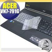 【EZstick】ACER Aspire V17 VN7-791G 系列 專用奈米銀抗菌TPU鍵盤保護膜