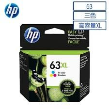 HP F6U63AA NO.63XL原廠大印量彩色墨水匣 適用DJ3630/2180/2130/1110/ENVY4520/OJ3830/4650(原廠品)