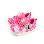 Disney Minnie Mouse 迪士尼 米妮  休閒鞋 魔鬼氈 粉紅色 小童 D117024 no090