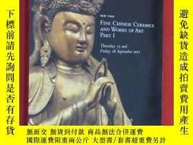 二手書博民逛書店CHRISTIE S罕見NEW YORK FINE CHINESE CERAMICS AND WORKS OF A