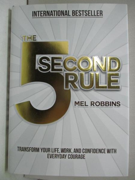 【書寶二手書T1/心靈成長_EWN】The 5 Second Rule: Transform Your Life, Work…