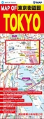 MAP OF TOKYO東京街道圖(中英文)