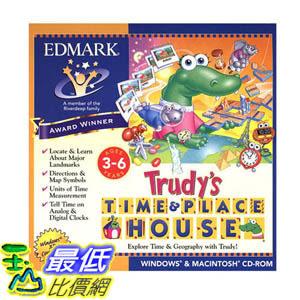 [106美國暢銷兒童軟體] Trudy s Time & Place House