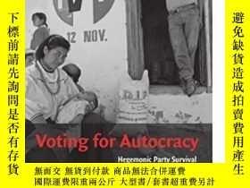 二手書博民逛書店Voting罕見For AutocracyY255562 Beatriz Magaloni Cambridge