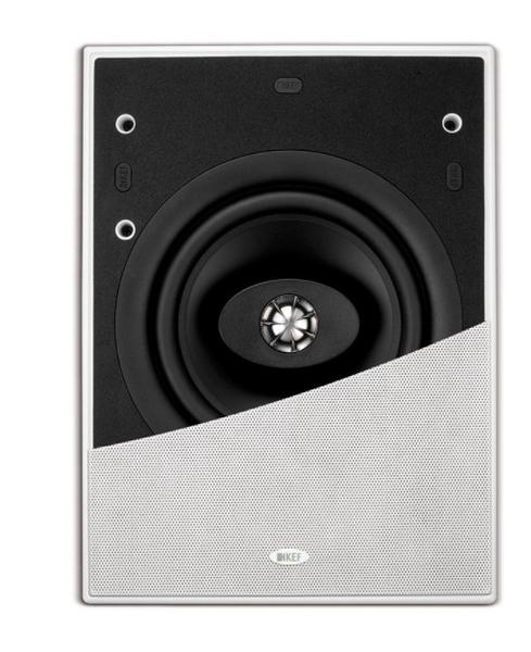 超薄型設計《名展影音》英國 KEF Ci200CL方形嵌壁式喇叭/支