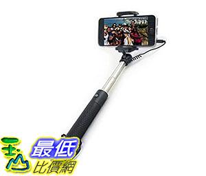 [美國直購] 自拍桿 Selfie Stick [GLOBE STICK] Premium Quality Wired Mini Stick With Built-In Remote Shutter B017NN1A2S