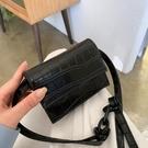 特賣 夏天小包包女新款時尚復古迷你包百搭ins斜挎包鱷魚紋小方包