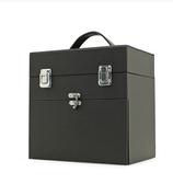 京東生活小物手提專業化妝箱多層半永久紋繡工具箱化妝箱隔板收納化妝箱大容量 小號