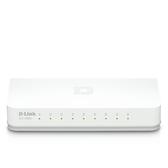 D-Link 友訊 DES-1008A 8埠10/100Mbps EEE節能 桌上基本型 網路 交換器