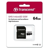 Transcend 創見 micro SD 350V 64G 高耐用 記憶卡